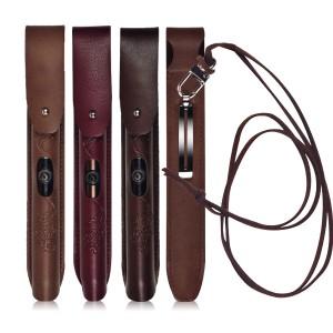 클립온 전자담배 가죽케이스-쉴드(카토마이저,드립팁보호+휴대용클립+목걸이스트랩)