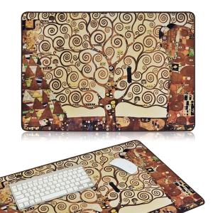 명화 노트북패드 데스크매트-클림트 생명나무(대형마우스패드, 장패드)